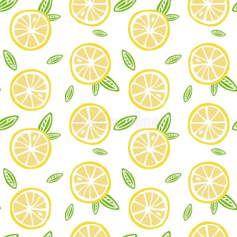 Лимон плодоовощ с зеленым цветом выходит на белый шов картины предпосылки стоковые изображения