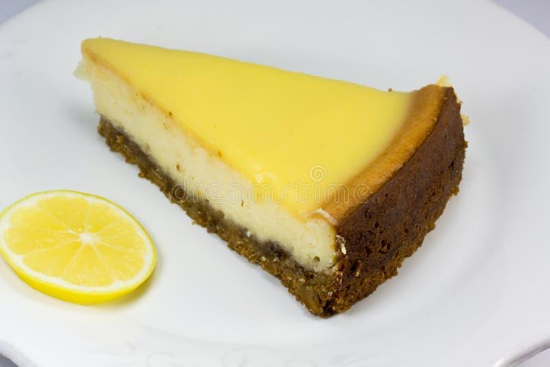 лимон cheesecake стоковое изображение
