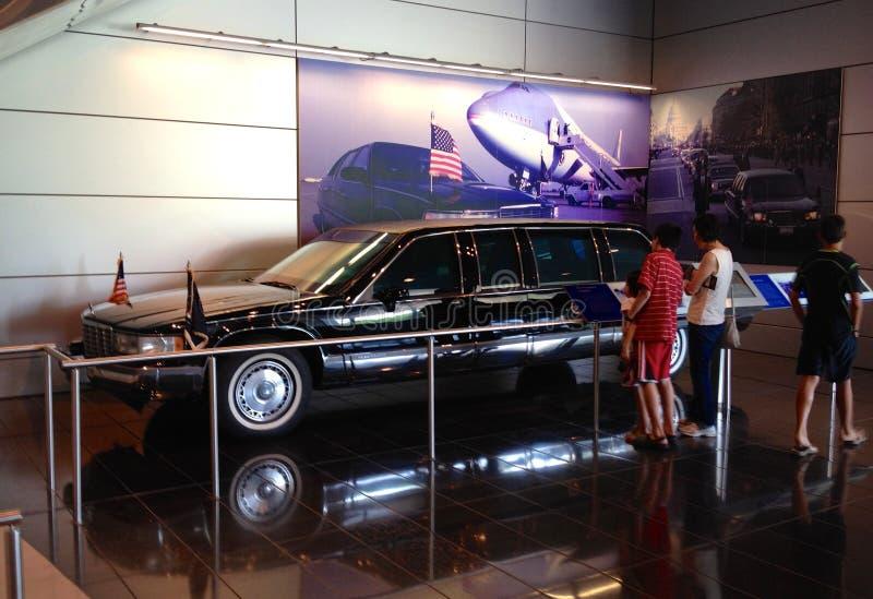 Лимузин Уильям Джефферсон Клинтона президентский стоковые фото