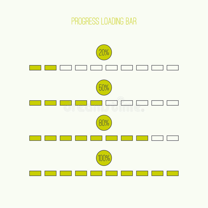 Линейный бар затяжелителя бесплатная иллюстрация