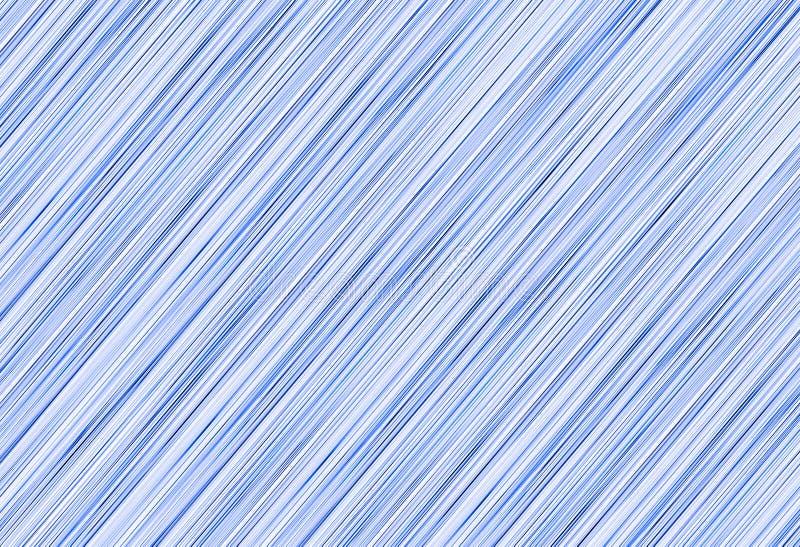 Линии абстрактной предпосылки белые низкопробные голубые чернил-тонизировали диагональ картины иллюстрация вектора
