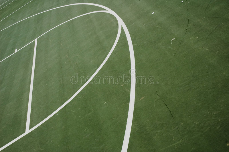 линии баскетбола стоковые фотографии rf