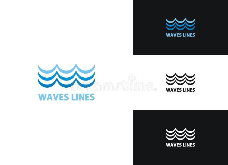 линии волны стоковые фотографии rf