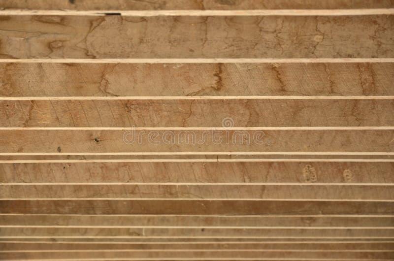 Линии деревянной решетины стоковая фотография rf