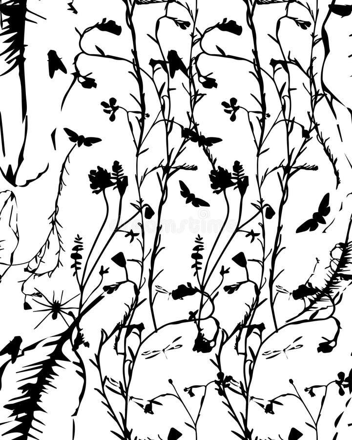 Линии завода иллюстрация штока
