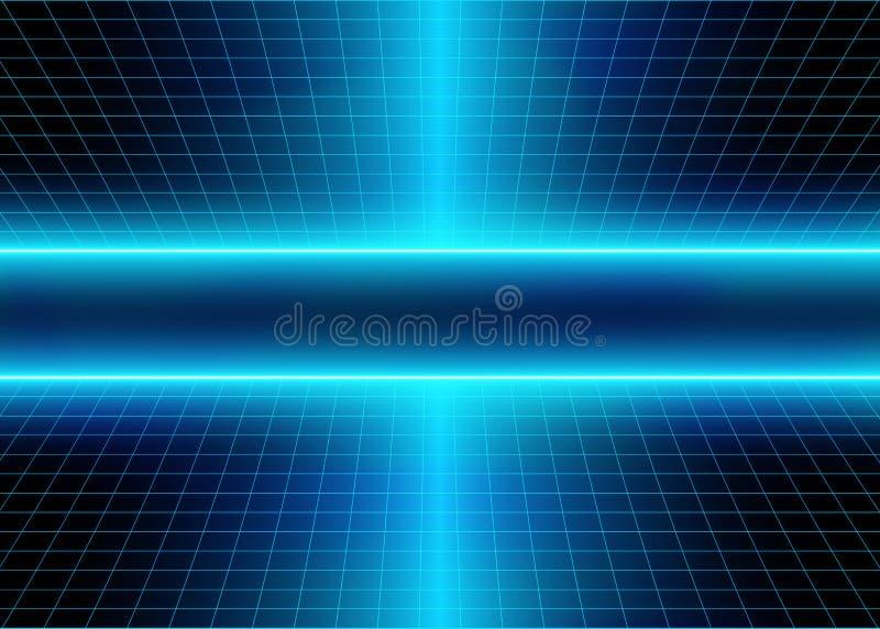 Линии зарева энергии 3D стоковые фото