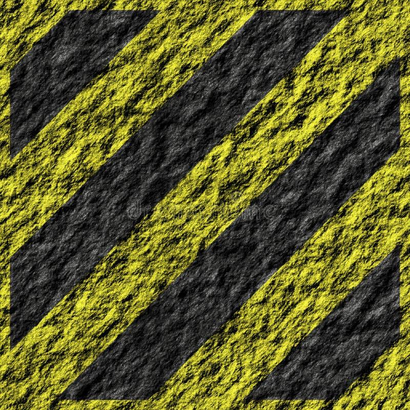 линии иллюстрации опасности иллюстрация вектора