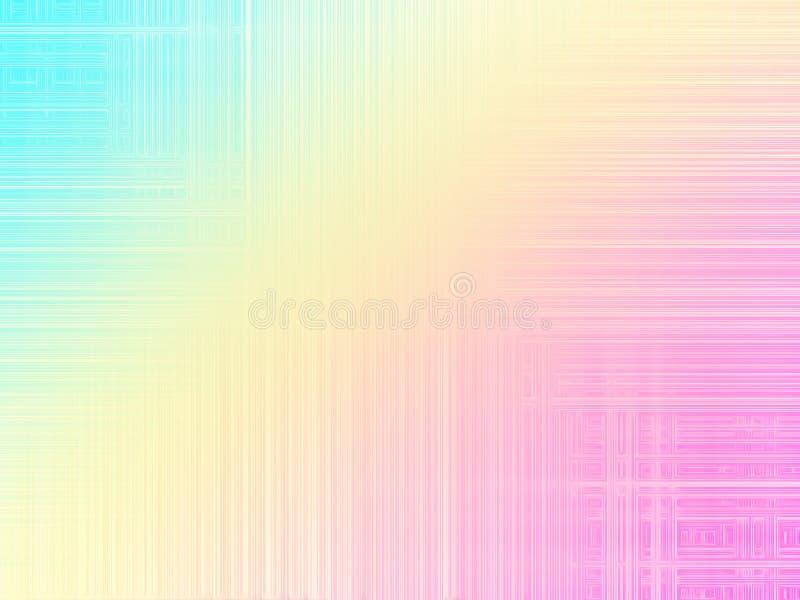 Линии картина волны конспекта multicolor футуристические предпосылки стоковое изображение rf