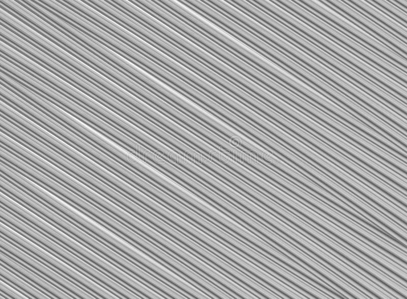 Линии картина серой ребристой предпосылки раскосные бесконечные дизайна текстуры основного металла промышленная бесплатная иллюстрация