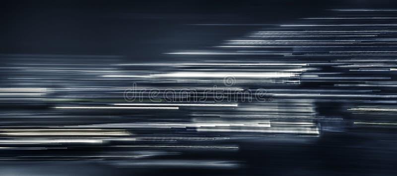 Линии несосредоточенного движения абстрактные непрерывные стоковое фото