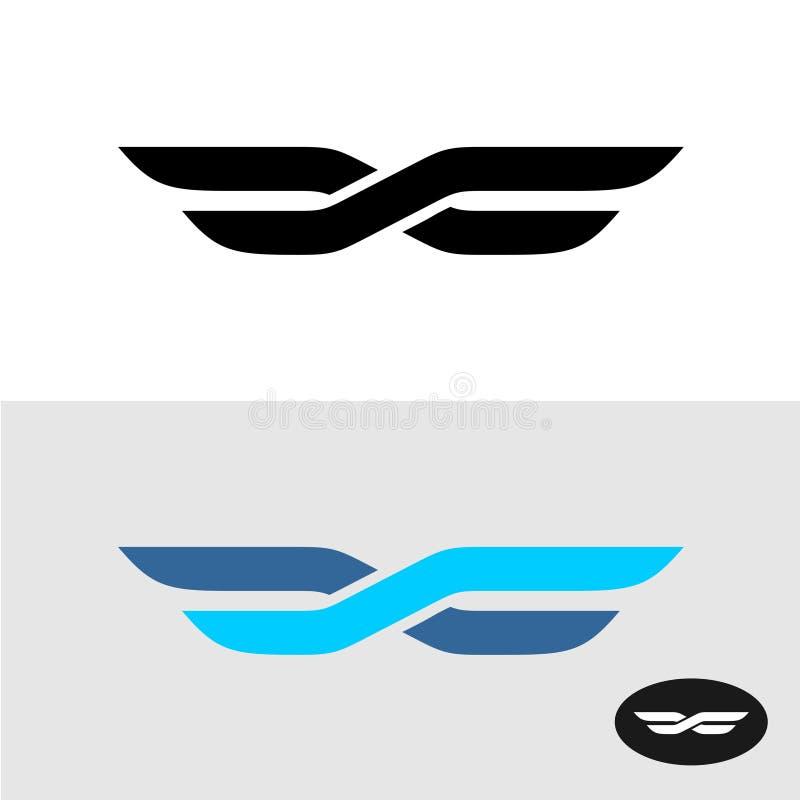 2 линии пересеченной как логотип названия крылов бесплатная иллюстрация