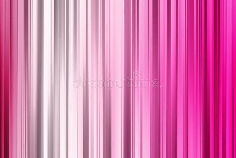 Линии пинка и белых вертикальные, светлая абстрактная предпосылка иллюстрация вектора