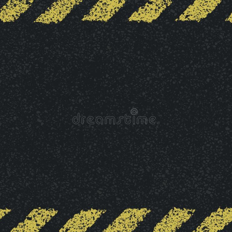 Линии предпосылка опасности желтые. бесплатная иллюстрация