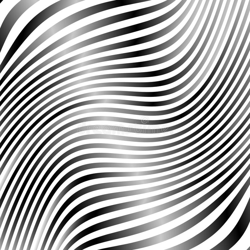 Download Линии с влиянием деформации Абстрактный Uncolored, Monochrome Il Иллюстрация вектора - иллюстрации насчитывающей искажение, скачками: 81800814