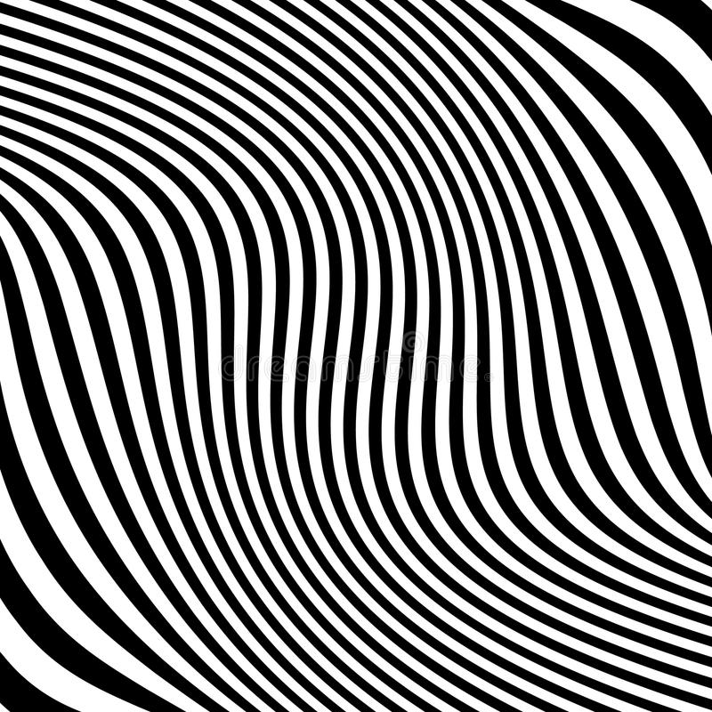 Download Линии с влиянием деформации Абстрактный Uncolored, Monochrome Il Иллюстрация вектора - иллюстрации насчитывающей линейно, свободно: 81800826
