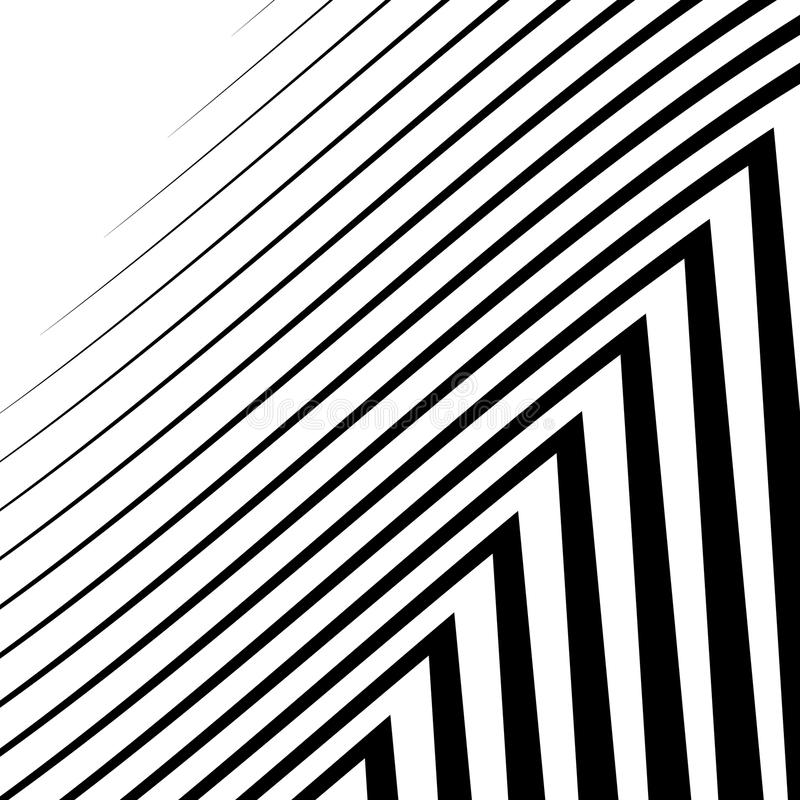Download Линии с искажением Нервные, волнистые линии Monochrome геометрическое Пэт Иллюстрация вектора - иллюстрации насчитывающей свободно, абстракции: 81812133
