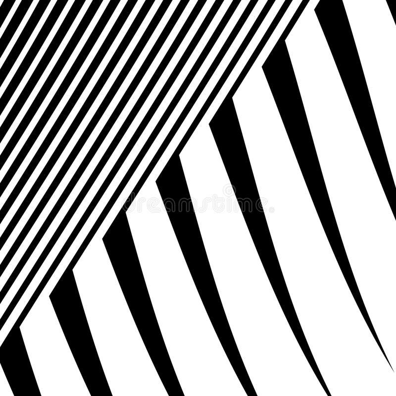 Download Линии с искажением Нервные, волнистые линии Monochrome геометрическое Пэт Иллюстрация вектора - иллюстрации насчитывающей абстракции, несимметричной: 81812139