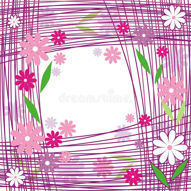 линии цветка бесплатная иллюстрация
