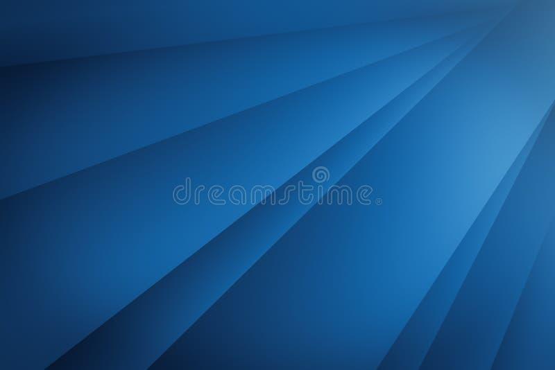 Линия абстрактные искусства геометрии затеняя и предпосылка сини светлого цвета градиента иллюстрация вектора