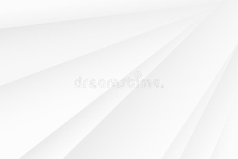 Линия абстрактные искусства геометрии затеняя и цвет градиента светлый голубой иллюстрация штока