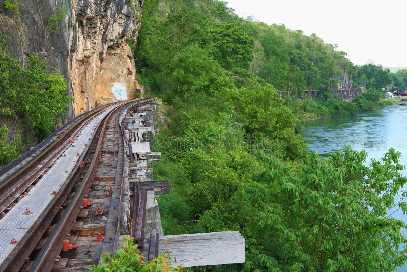 Линия Вторая Мировая Война железной дороги стоковые изображения rf