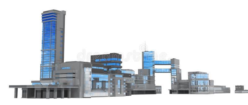 линия городского пейзажа иллюстрация штока