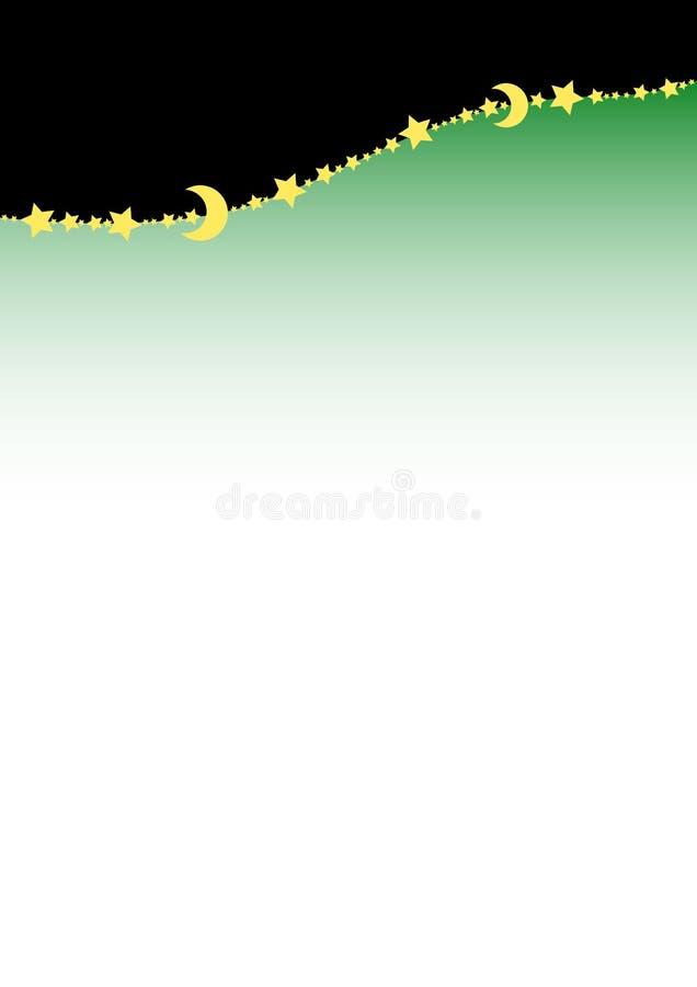 линия звезды предпосылки иллюстрация штока