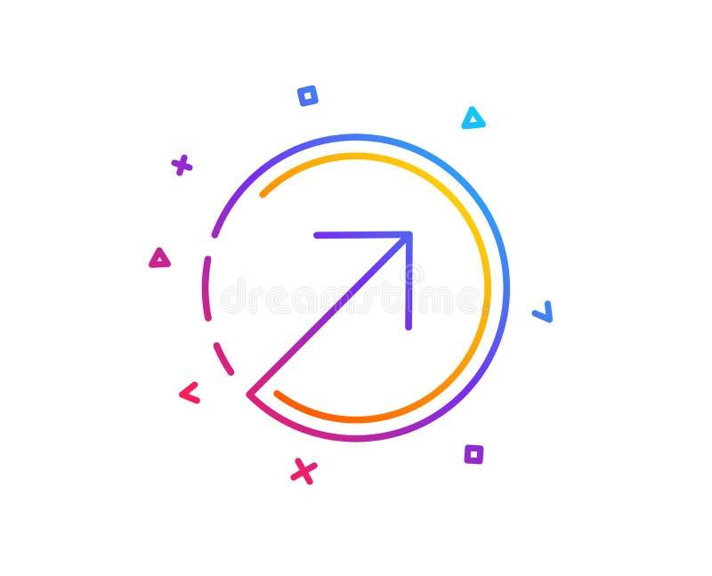 Линия значок стрелки направления arv вектор бесплатная иллюстрация