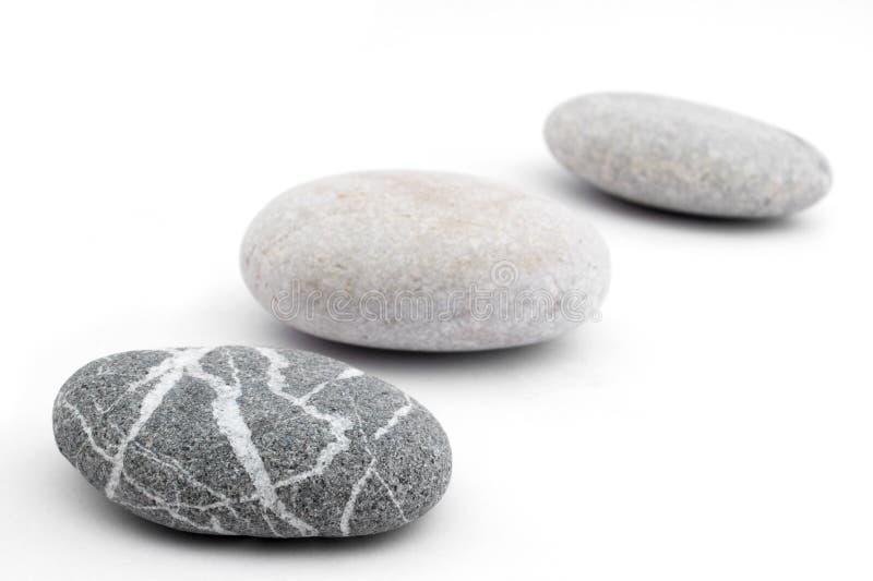 линия камушки стоковая фотография