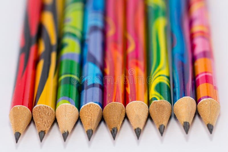 Линия карандаша стоковые фотографии rf