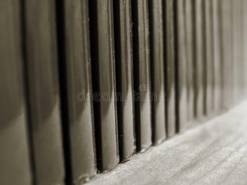линия книг стоковая фотография rf
