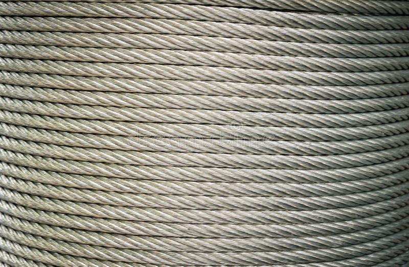Линия кривый кабеля стальная стоковые изображения rf