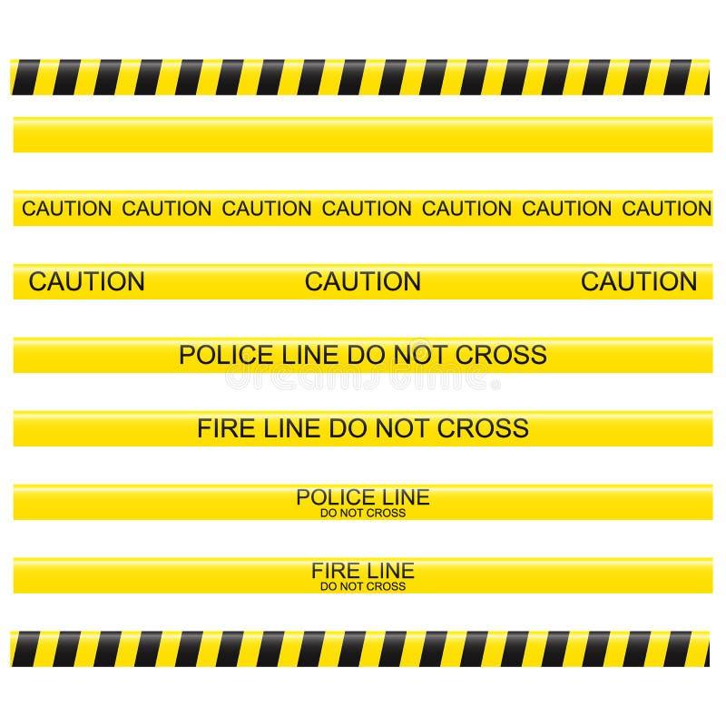 линия ленты полиций бесплатная иллюстрация