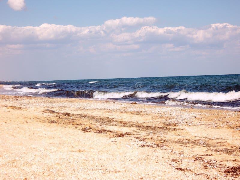 Линия моря стоковая фотография rf