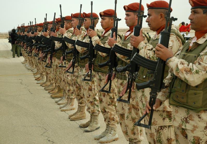 линия ООН войск вверх стоковые фото