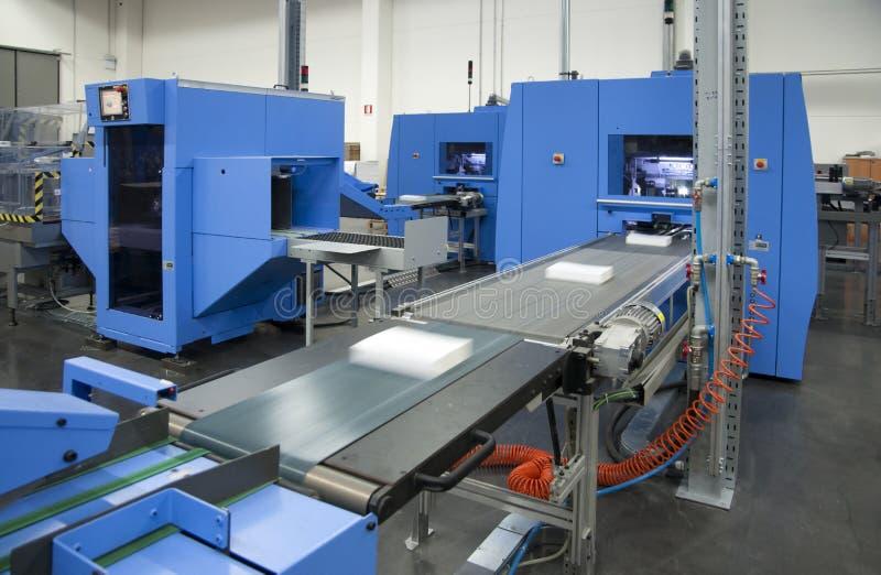 линия отделки printshop стоковая фотография rf