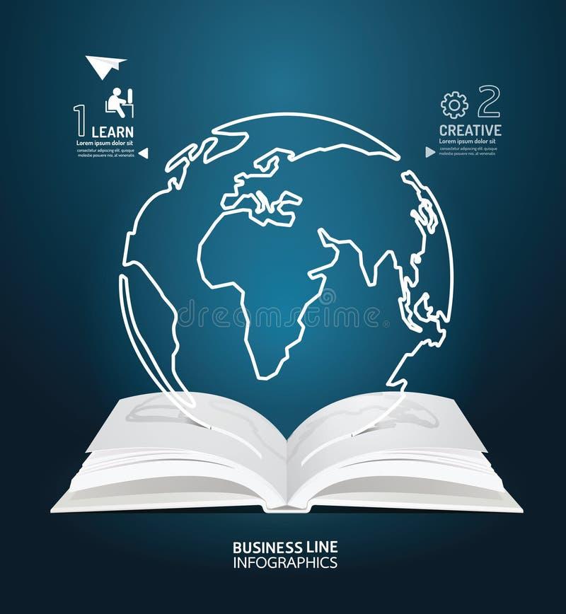 Download Линия отрезок мира Infographic бумаги диаграммы бумажной книги творческий Иллюстрация вектора - иллюстрации насчитывающей сообщение, творческо: 40581609
