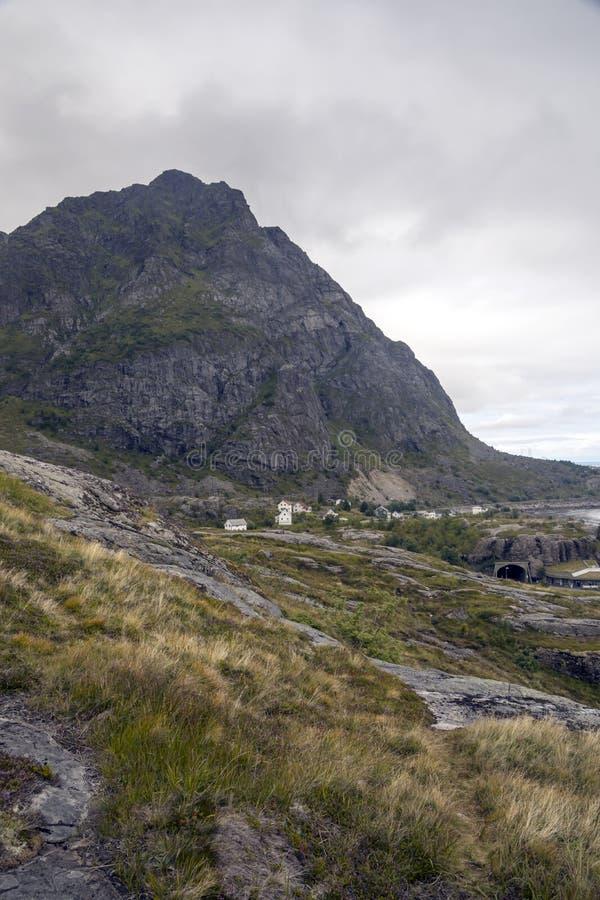 Линия побережья Норвегии стоковые фотографии rf
