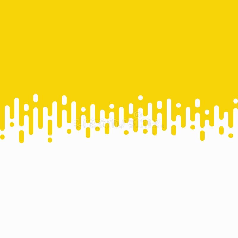 Линия предпосылка нашивки вектора конспекта желтая волнистой картины вектор eps10 иллюстрации иллюстрация вектора