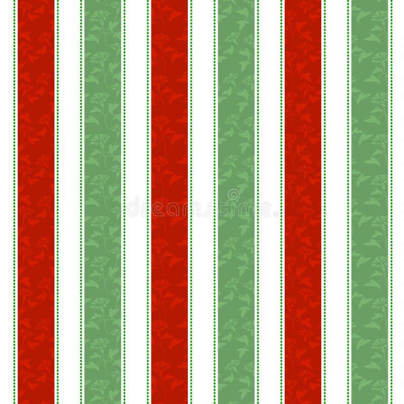 Линия предпосылка рождества красная зеленая белая картины иллюстрация штока