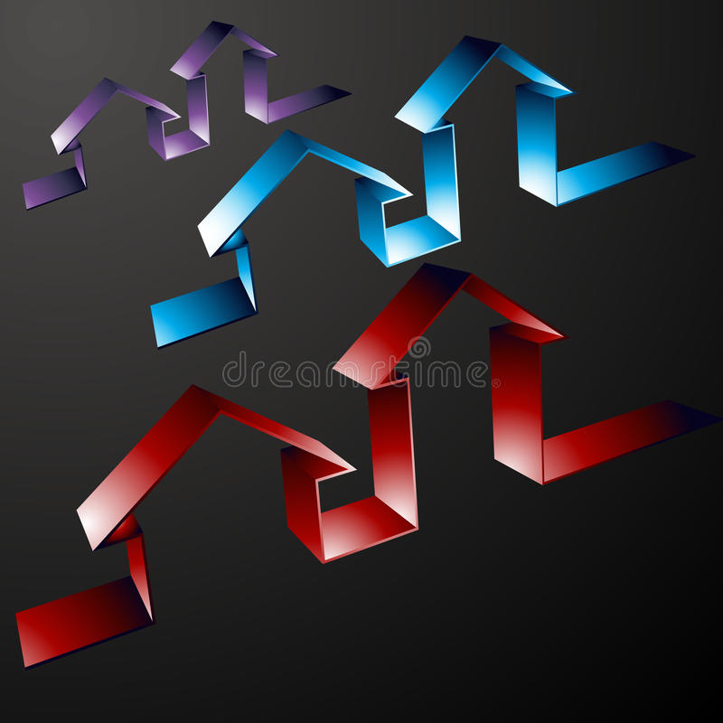 линия свойство икон иллюстрация штока