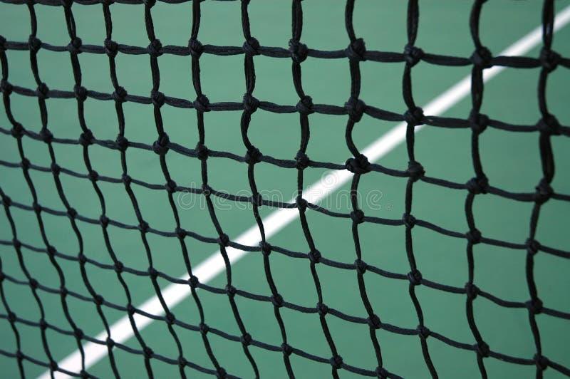 линия сетчатый теннис стоковое изображение rf