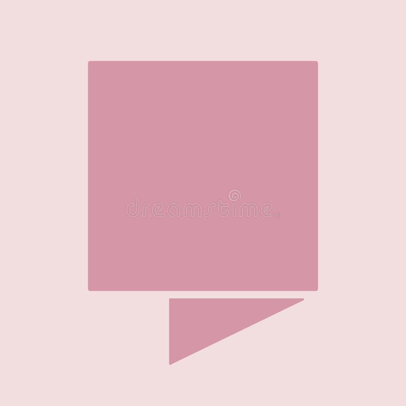 Линия сложенная знаменем плоский дизайн с предпосылкой бесплатная иллюстрация