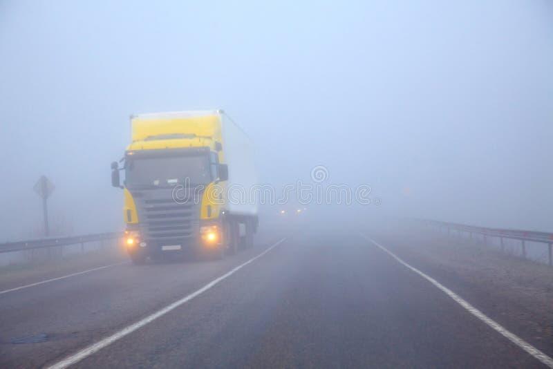линия тележка тумана стоковое фото