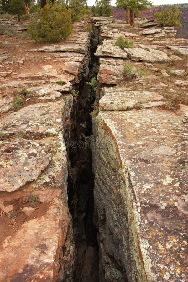 линия трещиноватости недостатка земли стоковые изображения rf
