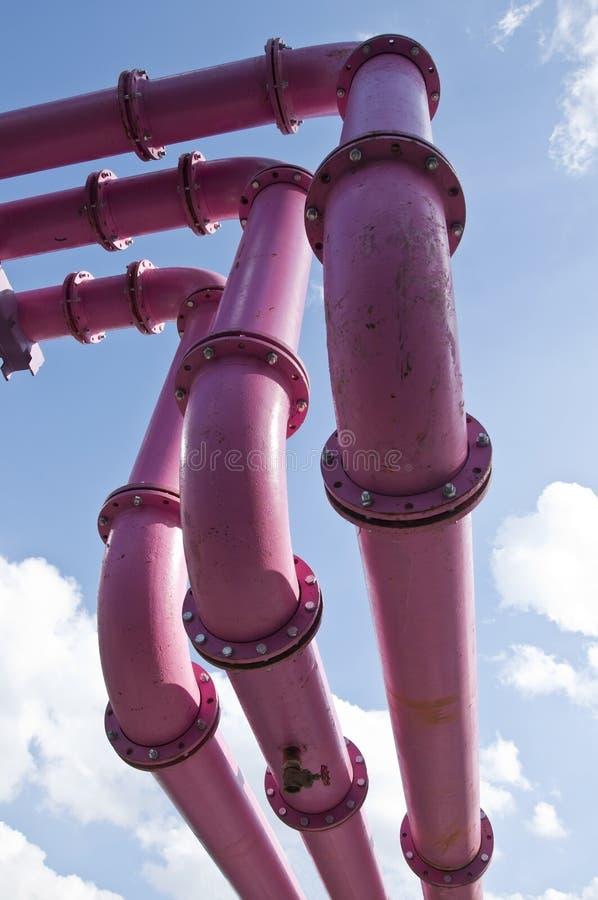 Линия трубы газа стоковые изображения