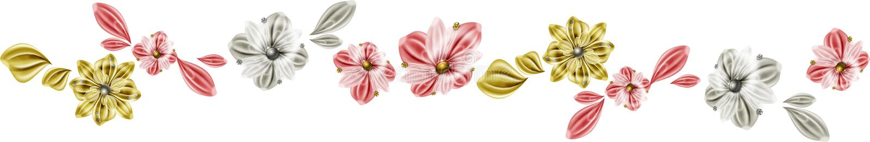 линия цветков иллюстрация штока