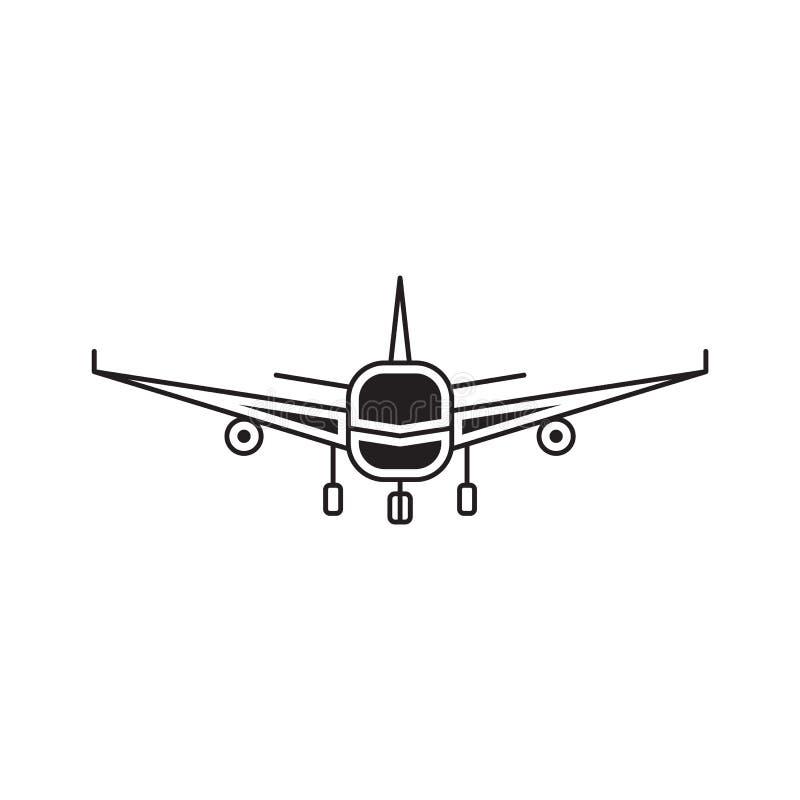 Линия шаблон авиакомпаний логотипа бесплатная иллюстрация