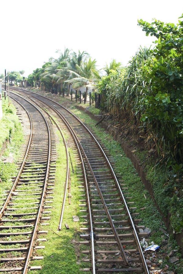 линия railway стоковое изображение