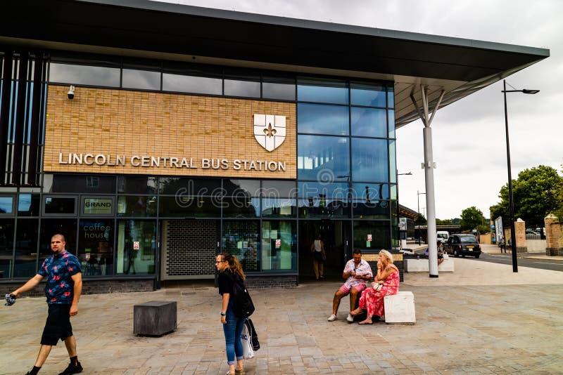 Линкольн, Великобритания - 07/21/2018: Вход к Linco стоковые фотографии rf